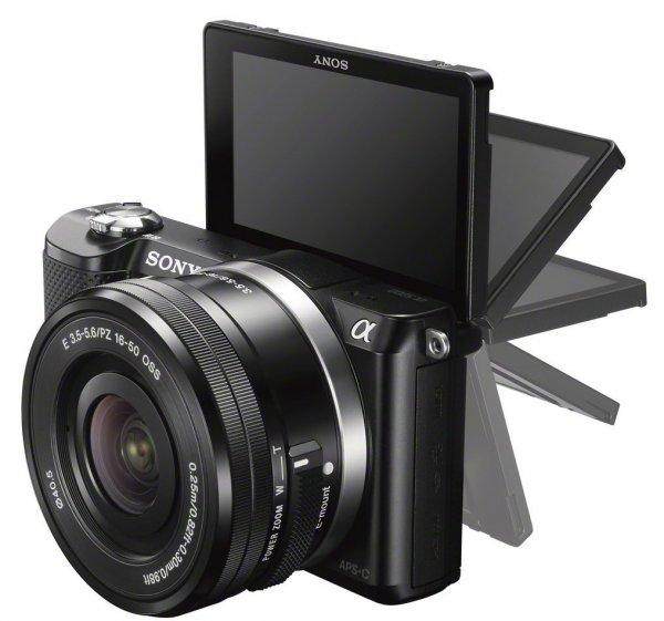 Sony Alpha 5000 Systemkamera schwarz inkl. SEL-P1650 Objektiv für 281,88 € @Amazon.co.uk