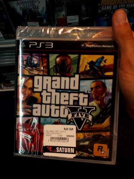 [Jena Saturn] GTA5 PS3 für 19€ idealo 29€