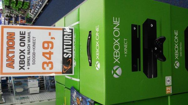 Xbox One + Kinect + Jedes Spiel nach Wahl für 349 € im Saturn Hamburg [Lokal]