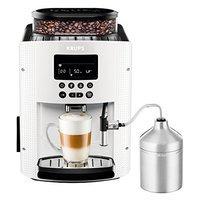 KRUPS EA 8161, Kaffeevollautomat, 1.8 Liter Wassertank, 15 bar, Metall-Kegelmahlwerk, weiß, versandkostenfrei für 333 € statt 399 €, @Saturn
