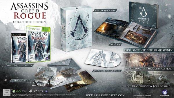 Assassins Creed Rogue CE für PC 27,98 (30 € kostenloser Versand)