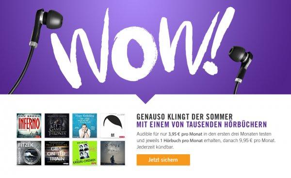 Erinnerung - Bis Ende September - Audible für 3,95€ (3 Monate) bei Postbank. Auch für Altkunden und ggf. generischer Link für alle nutzbar?