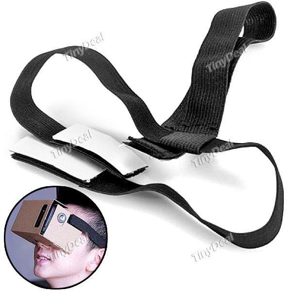 [Tinydeal] Kopfband für VR Cardboard (oder für ~0,70€ bei AliExpress + Qipu)
