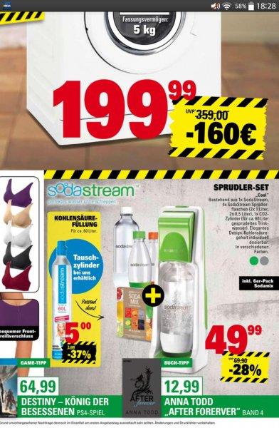 Marktkauf / Sodastream Tauschzylinder 5,00€ [evtl. lokal Trier]