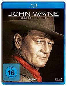 John Wayne Collection (6 Discs) [Blu-ray] für 12,96 € > [amazon.de] > Prime > Tiefstpreis