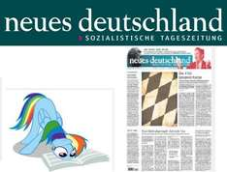 """2 wöchiges Probe-Abo der Tageszeitung """"Neues Deutschland"""" (kostenlos & selbstkündigend)"""