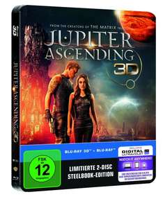 Jupiter Ascending (Limited Edition Steelbook) Amazon exklusiv 3D Blu-ray für 18,97€ @amazon.de [Prime]
