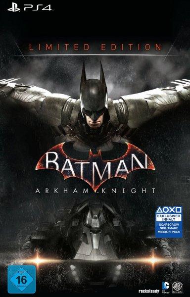 (Amazon.de) Batman: Arkham Knight - Limited Edition für PS4+XBox One für je 71,97€