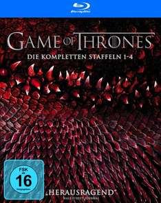 (Amazon.de)Game of Thrones Staffel 1-4 (Digipack + Bonusdisc + Fotobuch) auf Blu-ray für 74,97