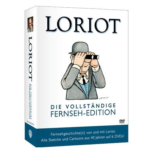 """[Real] Loriot: """"Die vollständige Fernseh-Edition"""" auf 6 DVDs - 760 Minuten Loriot - für 19,99€"""