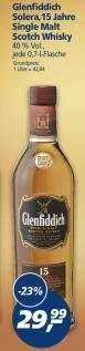 REAL - Glenfiddich Solera 15 Jahre Single Malt Whisky 29,99 - Tullamore - Jim Beam
