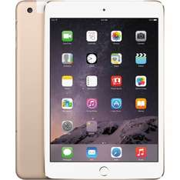 Apple iPad mini 3 128GB WiFi Gold@Misco
