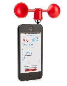 iPhone und Samsung Galaxy Windmesser Vaavud Wind Meter 33% reduziert (-5€ Gutschein & 4% QIPU Cashback) @GRAVIS.de