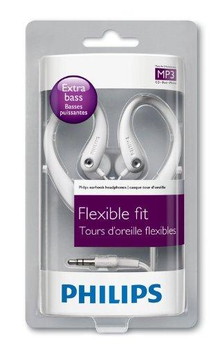 [Amazon-Prime] Philips SHS3201/10 Sport In-Ear-Kopfhörer (15 mm Lautsprechertreiber, 1,2 m Kabellänge) weiß