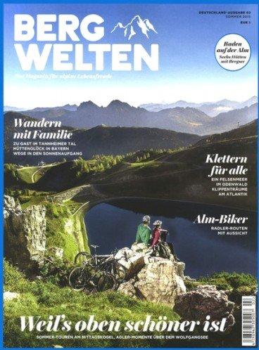 """Jahresabo der Zeitschrift """"Bergwelten"""" zum Abopreis von 36,00€ mit 15,00€ Amazon-Gutschein – Effektivpreis: 21,00€"""
