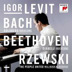 Bach, Beethoven, Rzewski - 4 Tracks in High-Res 24 bits 96.00 kHZ