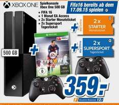 [Expert Flensburg] Xbox One + Fifa 16 + 2. Controller + 1 Monat EA Access + 2x Sky Starter Monatsticket + 2x Sky Supersport Tagesticket