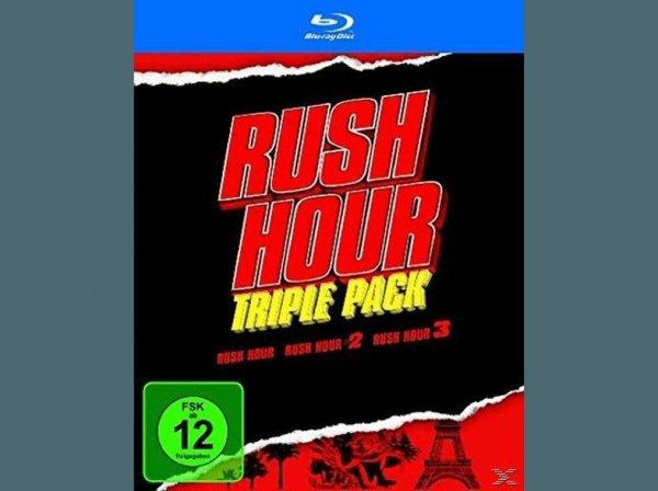 [MediaDealer Vorbestellung] Rush Hour - Trilogy -Triple Pack [Blu-ray] für 27,54€ inc. Versand