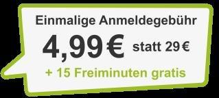 DriveNow Anmeldung 4,99 Euro inkl. 15 Freiminuten (im Wert von 3,60 Euro)