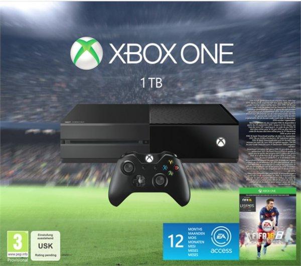 Xbox One 1 TB + Fifa 16