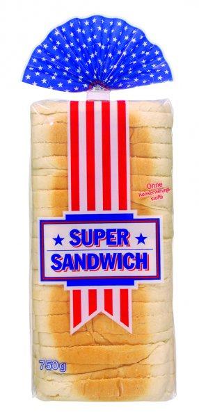 [Kaufland] Brotland Super-Sandwich Weizen Toastbrot für 0,59