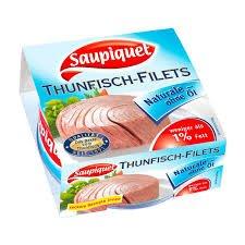 SAUPIQUET Thunfisch-Filets  2x 185g  für  2,99€     (31% billiger) NORMA