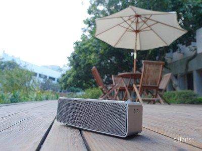 LG NP7550 - mobiler Bluetooth Lautsprecher