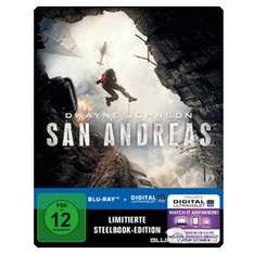 San Andreas (2015) 3D - Limited Edition Steelbook (Blu-ray 3D + Blu-ray + UV Copy)  für 24,99 € > [exklusiv bei amazon.de ] > Prime > Vorbestellung