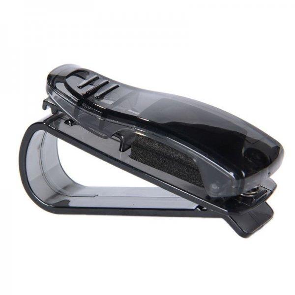 @Ebay.CN: Sonnebrillenhalter schwarz Brillenhalter Sonnenbrillen Ticket Clip Holder Halter für Sonnenblende Auto für 1€ oder Preisvorschlag möglich