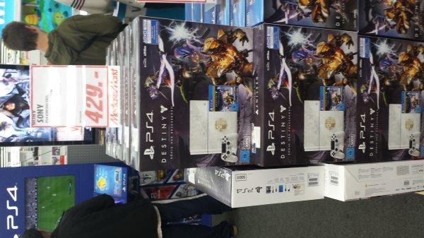 Lokal Media Markt Eiche PlayStation 4 500GB Limited Edition inkl. Destiny: König der Besessenen - Legendäre Edition