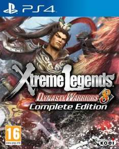 Dynasty Warriors 8: Xtreme Legends - Complete Edition (PS4)  für 22€ @Zavvi.com
