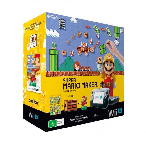 [bücher.de über Rakuten] Nintendo Wii U Premium Super Mario Maker für 283,91€ mit Paypal Gutschein