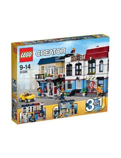 Super DEAL! Lego Creator Fahrradladen und Cafe 31026 Neuer Tiefspreis!
