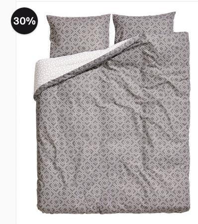 [H&M] 30% Rabatt auf ausgewählte Bettwäsche, z.B. Doppelbett für 32,89€ statt 44,94€