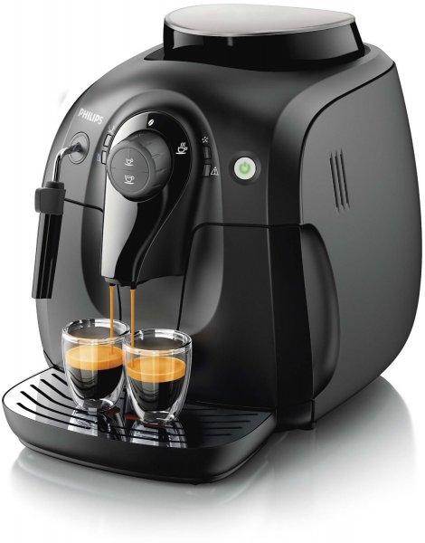 [Blitzangebot] Philips HD8651/01 Kaffeevollautomat Dampfdüse (15 bar, Dampfdüse) schwarz, 229,- EUR @ amazon