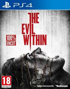 The Evil within PS4  für 15,98 / 9,99€