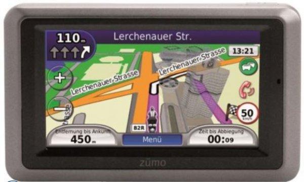 [online] Garmin zumo 660 LM Motorrad Navigation mit Lifetime Maps  @Ebay