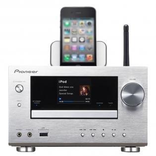 Pioneer XC-HM81-S Micro-Hifi-System ohne Lautsprecher (WiFi, Apple AirPlay, vTuner, DLNA 1.5, Control App.) für 249€ @Redcoon.de