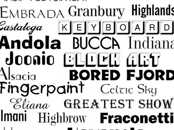 1000 OpenType Fonts gratis (Mac)