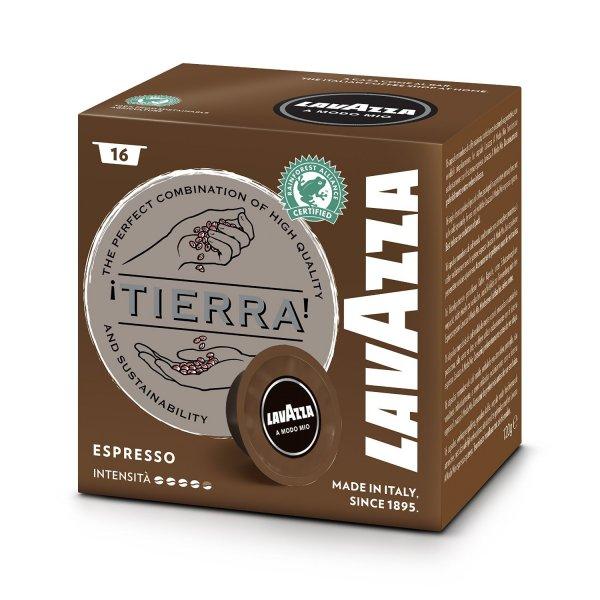 [Amazon Sparabo] Lavazza A Modo Mio Tierra Intenso, 2 x 16 Kapseln, 2er Pack (2 x 120 g) für 7,58€