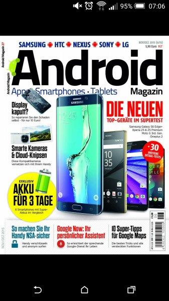 Android Magazin gratis via Facebook für die ersten 400!