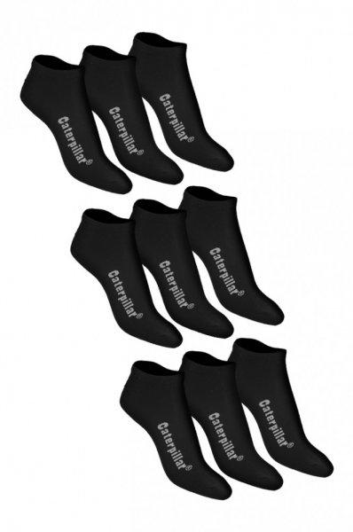 9 Paar CATERPILLAR Sneaker Socken (SCHWARZ) für nur noch 8,46 €