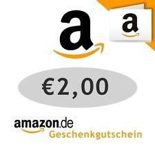 2 € Amazon.de Gutschein für 1,59€ eBAY