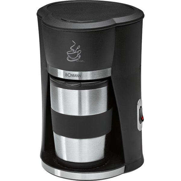 Bomann KA 180 CB Kaffeemaschine in schwarz/Edelstahl für nur 10,98€ (inkl. Versand) !!