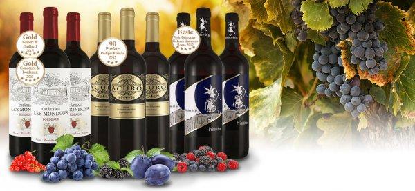 [ebrosia] Beste of Europa – Rioja, Bordeaux und Primitivo mit 42% Rabatt