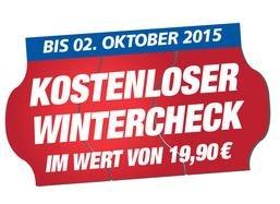 KFZ-Wintercheck gratis von Pneuhage