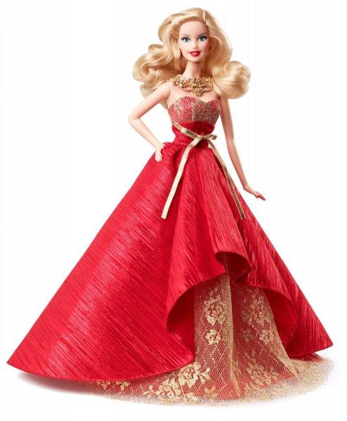 (Spielzeug/Prime) Barbie Collector Holiday Doll 2014 für 14,62 €