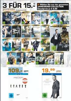 [Lokal Saturn Köln Hansaring] James Bond Aktion bei Saturn DVD oder BluRay