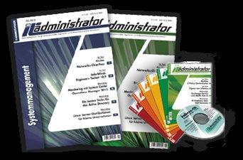 """Gratis-Ausgabe der Fachzeitschrift """"IT-Administrator"""" bestellen"""