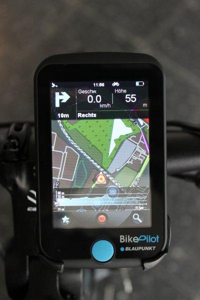 BLAUPUNKT Fahrradnavigation BikePilot@Mediamarkt